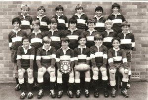 That's me middle row far left. Just sayin'... I know a little about youth rugby too.