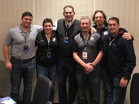 In good company at USA Rugby NDS. Some West Point Rugby Alums (and a Scottish guy named Steve)