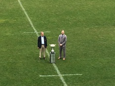 """The newly annointed """"Emil Signes Cup"""". A shame so few people were present to witness a very important recognition"""